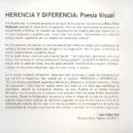 Herencia y Diferencia, de Rut y Silvia Rubinson Centro Cultural Recoleta, Sala 8. 2011 Foto: Fernando de la Orden